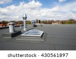 Inox Chimney On The Flat Roof...