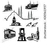 istanbul vector illustration | Shutterstock .eps vector #430561957