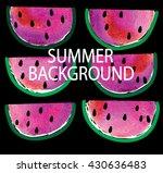 stylish summer background with ...