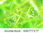 abstract green fractal... | Shutterstock . vector #430777177