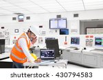 electrical engineer working at... | Shutterstock . vector #430794583