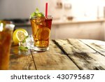 summer cold drink  | Shutterstock . vector #430795687