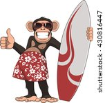 vector illustration  of funny... | Shutterstock .eps vector #430816447