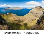 panoramic view over the... | Shutterstock . vector #430898407