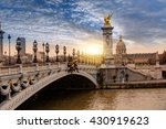 Alexandre Iii Bridge  Paris...