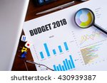 """budget 2018"" text on paper... 