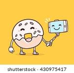 vector illustration of bright... | Shutterstock .eps vector #430975417
