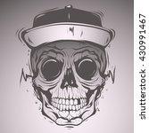 skull face | Shutterstock .eps vector #430991467