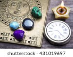 foretelling the future through... | Shutterstock . vector #431019697