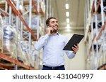 wholesale  logistic  business ...   Shutterstock . vector #431040997