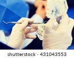 people  medicine  stomatology...   Shutterstock . vector #431043553