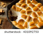 Homemade S'mores Dip With...