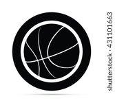 basketball icon circle icon | Shutterstock .eps vector #431101663