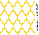 faux tribal pattern seamless... | Shutterstock .eps vector #431132617