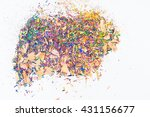 coloring pencils sharpenings | Shutterstock . vector #431156677