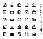 city elements vector icons 2 | Shutterstock .eps vector #431190133