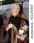 dr. jane goodall at the 'in... | Shutterstock . vector #431190547