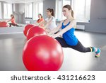 fitness  sport  training and... | Shutterstock . vector #431216623