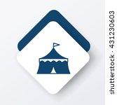 circus icon | Shutterstock .eps vector #431230603