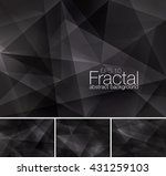fractal abstract background... | Shutterstock .eps vector #431259103