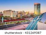 san diego  california cityscape ... | Shutterstock . vector #431269387