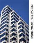 modern skyscraper with glass... | Shutterstock . vector #431297833