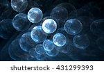 molecular structure  atoms.... | Shutterstock . vector #431299393