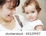 mother with daughter | Shutterstock . vector #43129957