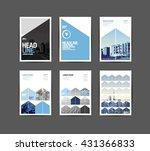 template design  layout ... | Shutterstock .eps vector #431366833