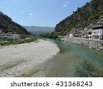 osum river in berat  albania | Shutterstock . vector #431368243