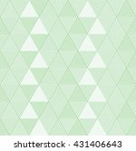 geometric triangle pattern ... | Shutterstock .eps vector #431406643
