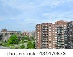 condo buildings in montreal | Shutterstock . vector #431470873