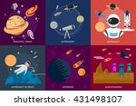space and universe | Shutterstock .eps vector #431498107