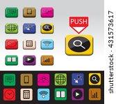 set of smartphone application