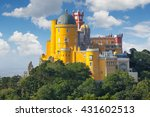 fantastic national palace of ... | Shutterstock . vector #431602513