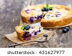 Cheesecake With Blueberry And...