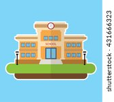 school and education vector | Shutterstock .eps vector #431666323