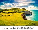 ireland  coast | Shutterstock . vector #431693263