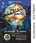 vector summer party invitation...   Shutterstock .eps vector #431758693