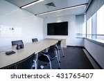 business meeting room or board... | Shutterstock . vector #431765407