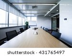 business meeting room or board... | Shutterstock . vector #431765497