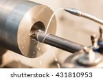 metalworking industry  close up ... | Shutterstock . vector #431810953