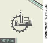 industrial icon | Shutterstock .eps vector #431912233