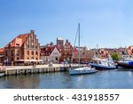 wismar  | Shutterstock . vector #431918557