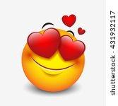 Cute Feeling In Love Emoticon...