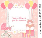 Baby Shower Girl  Invitation...