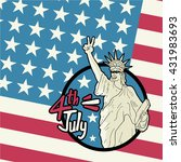 american independence day | Shutterstock .eps vector #431983693