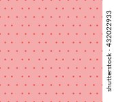 seamless dots pattern background | Shutterstock .eps vector #432022933
