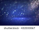 glitter vintage lights