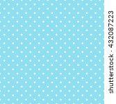 seamless polka dots pattern... | Shutterstock .eps vector #432087223